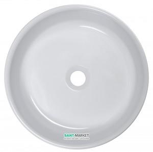Раковина для ванной накладная Буль-Буль коллекция Diana белая 4904101
