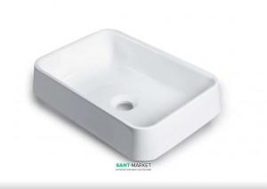 Раковина для ванной накладная Буль-Буль коллекция Morena белая 4604101