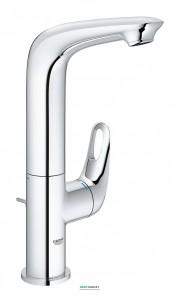 Смеситель для раковины однорычажный с донным клапаном Grohe колекция Eurostyle New хром 23569003