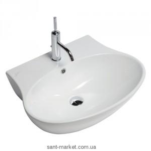 Раковина для ванной подвесная Hatria коллекция Nido белая Y0R4