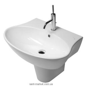 Раковина для ванной подвесная Hatria коллекция Nido белая Y0QX