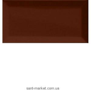 Плитка настенная Cevica Metro Plaqueta Chocolate 7.5х15