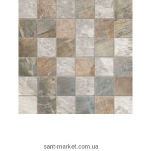 Плитка настенная ABK Fossil FSN03211 Stone Mos. Quadr. Mix L.Grey/Blue 30x30