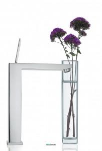 Смеситель для раковины с джойстиком высокий Grohe коллекция Eurocube Joy хром 23661000