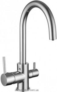 Смеситель для кухни под фильтр Imprese Daicy двухрычажный 55009-U