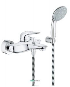 Смеситель однорычажный для ванны с душем Grohe коллекция Eurostyle 33592003