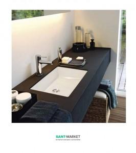 Раковина для ванной встраиваемая Laufen Living City белый H8124300001091