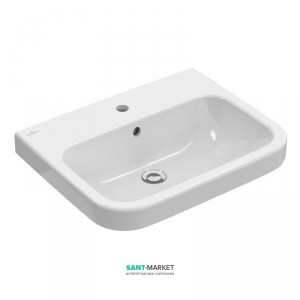 Раковина для ванной подвесная Villeroy & Boch Architectura 60х47х14 белая 41886001