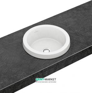 Раковина для ванной встраиваемая Villeroy & Boch Architectura белая 41654001