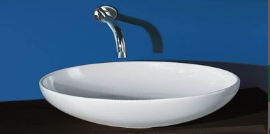 Раковина для ванной накладная AeT коллекция Thin белая L250TOROVO