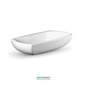 Раковина для ванной накладная AeT коллекция Spot белая L273T0R0V0