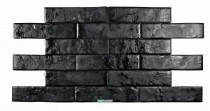 Плитка стена/пол Pamesa Brick Wall Negro 7x28