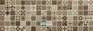 Плитка Мозаика Newker Gala Mosaico Brown 20x60