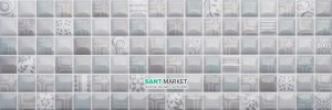 Плитка Мозаика Newker Gala Mosaico Grey 20x60