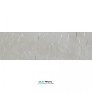 Плитка настенная Kale Wabi Maburu Crystal Grey RP-6948R 34x111