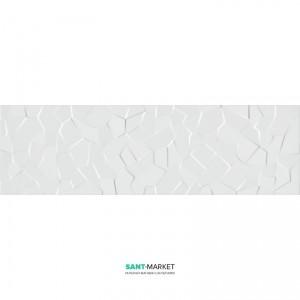 Плитка настенная Kale Wabi Shipo Crystal White Polished RP-6958R 34x111