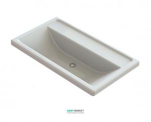 Раковина для ванной на тумбу Snail коллекция Венеция белая 106А100