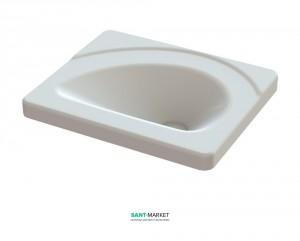 Раковина для ванной на тумбу Snail коллекция Диана белая 109А100