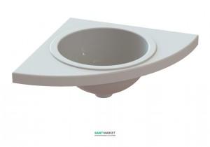 Раковина для ванной подвесная Snail коллекция Аврора белая 110А100