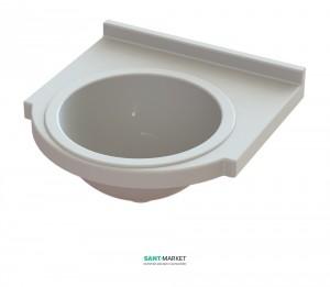Раковина для ванной на тумбу Snail коллекция Прометей белая 111А100
