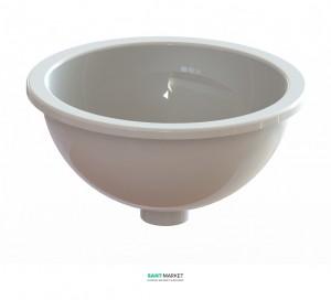 Раковина для ванной встраиваемая Snail коллекция Аврора белая 105А100