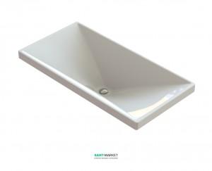 Раковина для ванной встраиваемая Snail коллекция Вега белая 115А100