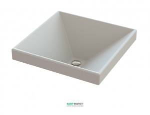 Раковина для ванной встраиваемая Snail коллекция Альтаир белая 116А100