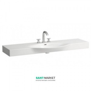 Раковина для ванной подвесная Laufen коллекция Palace без держателя белая H8117060001041