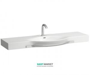 Раковина для ванной подвесная Laufen коллекция Palace с держателем белая H8127060001041