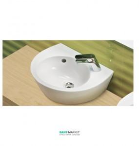 Раковина для ванной накладная Sanitana коллекция Pop белая PPLV0