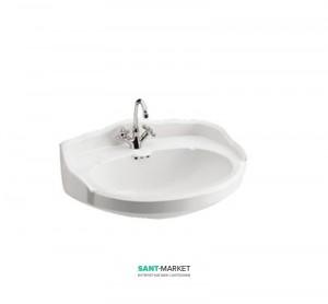 Раковина для ванной подвесная Sanitana коллекция Grecia белая GRLV5