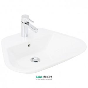 Раковина для ванной подвесная Sanitana коллекция Glam белая GLLM1