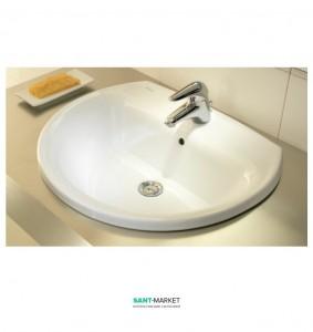 Раковина для ванной встраиваемая Sanitana коллекция Jazz белый KPLE0