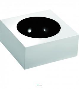 Раковина для ванной на тумбу Marmorin Reа белая/черная 202 040 020 xx x