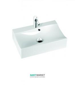 Раковина для ванной на тумбу Marmorin коллекция Iva белая 220 060 022 xx x