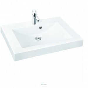 Раковина для ванной на тумбу Marmorin коллекция Moira Bis белая 280 070 022 xx x