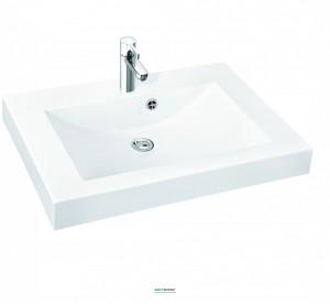 Раковина для ванной на тумбу Marmorin коллекция Moira Bis 800 белая 280 080 022 xx x