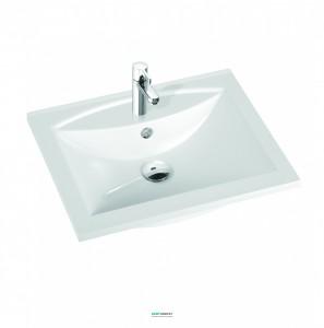 Раковина для ванной на тумбу Marmorin кллекция Larissa белая 300 060 022 xx x