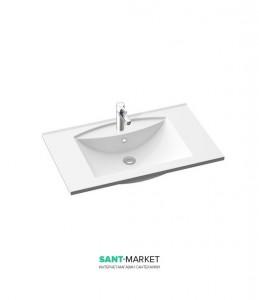 Раковина для ванной на тумбу Marmorin Larissa 800 белая 300 080 020 xx x
