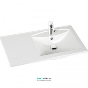 Раковина для ванной на тумбу Marmorin коллекция Larissa белая 300 090 922 xx x