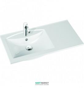 Раковина для ванной на тумбу Marmorin коллекция Larissa белая 300 090 722 xx x
