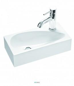Раковина для ванной подвесная Marmorin Elara 1 белая 390 040 020 xx x