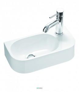 Раковина для ванной подвесная Marmorin Elara 2 белая 400 040 020 xx x