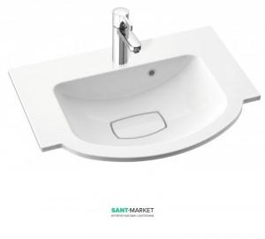 Раковина для ванной на тумбу Marmorin Emma белая 639 060 0xx xx x
