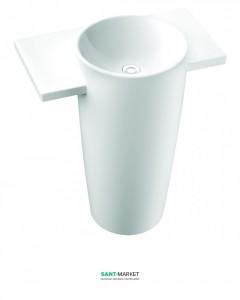 Раковина для ванной напольная Marmorin Febe белая 460 090 020 xx x