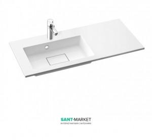 Раковина для ванной на тумбу Marmorin коллекция Lira белая 640 090 7xx xx x