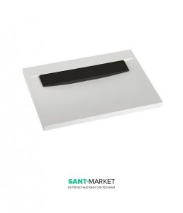 Раковина для ванной накладная Marmorin коллекция Tatoo черно-белая 112 070 020 xx x