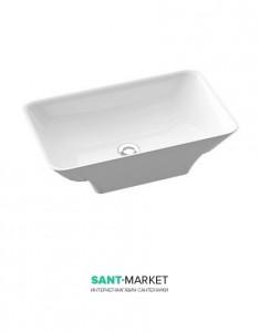 Раковина для ванной накладная Marmorin коллекция Loren белая 720 059 020 xx x