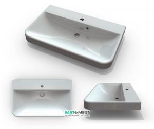 Раковина для ванной подвесная Буль-Буль коллекция Carla белая 3508101