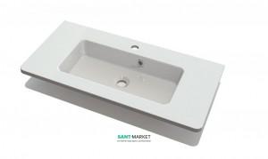 Раковина для ванной на тумбу Буль-Буль коллекция Annabelle белая 4008101